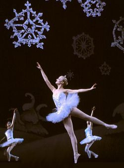 The Waltz of the Snowflakes from Tchaikovsky's The Nutcracker.